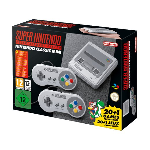 Nintendo Classic Mini: Super Nintendo Entertainment...