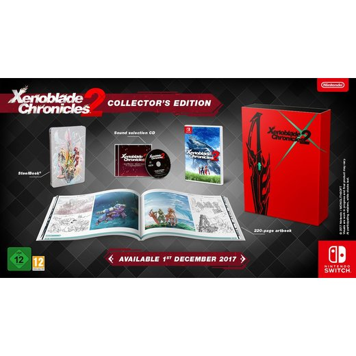 Xenoblade Chronicles 2 - Collectors Edition - Nintendo...