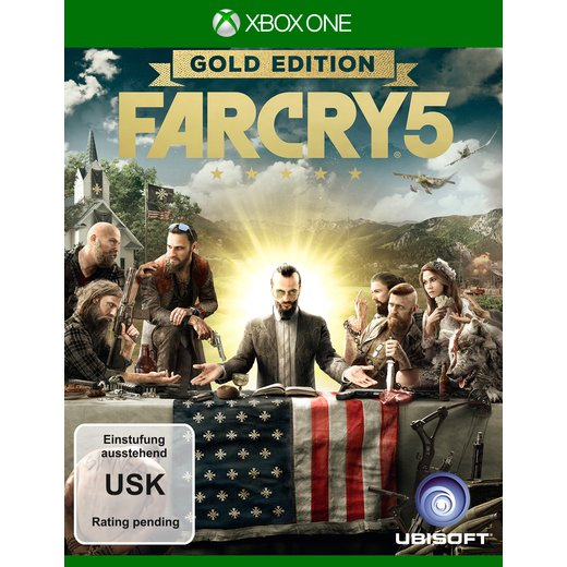 Far Cry 5 - Gold Edition - Xbox One
